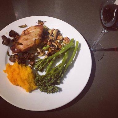 chick dinner
