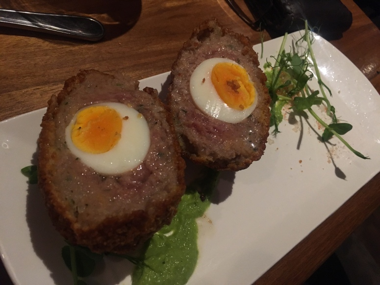 woodies scotch egg
